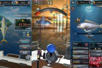 Download Fishing Hook Kail Pancing Mod Apk Unlimited Money