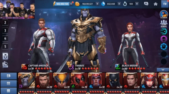 Marvel Future Fight Mod Apk 5.0 0